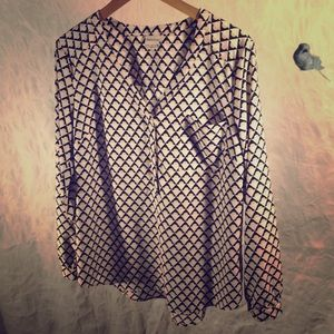Merona tunic blouse